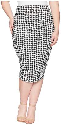 Unique Vintage Plus Size Katharine Wiggle Skirt Women's Skirt