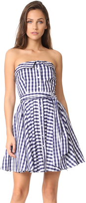 Milly Heidi Gingham Dress $495 thestylecure.com