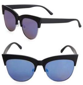 Fantas-Eyes 49 MM Cat Eye Sunglasses