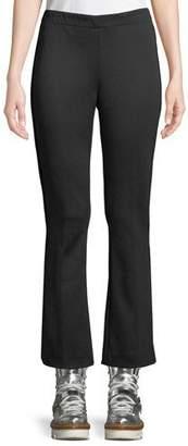 Moncler Tech Cropped Baby Boot-Cut Pants