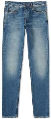 Saint Laurent Light Washed Slim Fit Jean