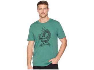 Life is Good Hiking Goat Crusher T-Shirt