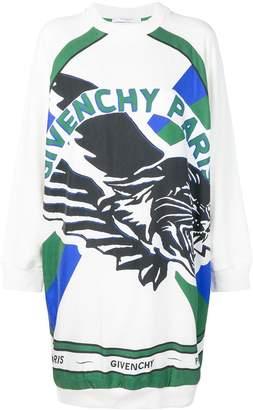 Givenchy logo printed jumper dress