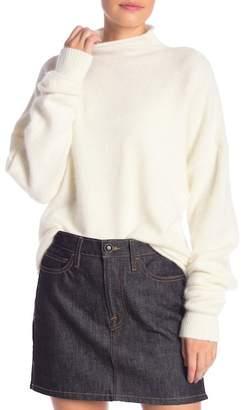 Frame Funnel Neck Sweater