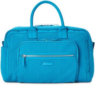 Vera Bradley Bahama Bay Iconic Compact Weekender Travel Bag