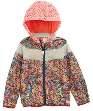 Scotch R'Belle SCOTCH RBELLE Print Colorblock Hooded Jacket