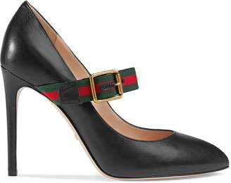 d60f3f7e2 Gucci Sylvie leather pump
