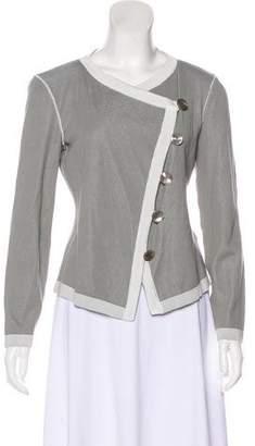 Armani Collezioni Lightweight Button-Up Cardigan