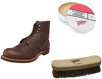 "Red Wing Shoes Men's Iron Ranger 6"" Boot and Shoe Care Set"