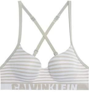 Calvin Klein Underwear Layered Stretch-Jersey Balconette Bra