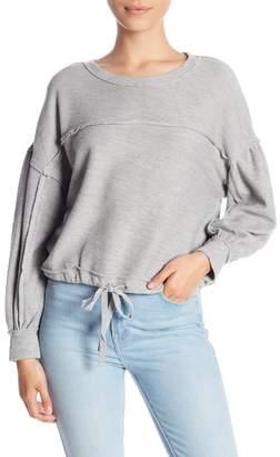 Melrose and Market Cropped Drawstring Sweater (Regular & Petite)