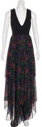 Alice + Olivia Printed Maxi Dress w/ Tags