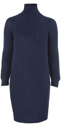 Women's Topshop Grunge Funnel Neck Sweater Dress 2