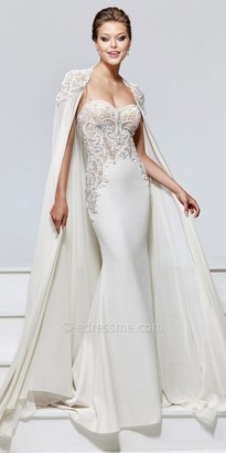 Tarik Ediz Lexina Evening Dress $1,254 thestylecure.com