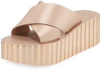 Tory Burch Scallop Wedge Platform Slide Sandal