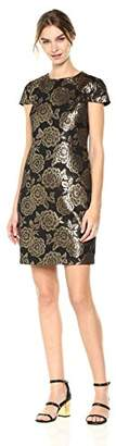 Sam Edelman Women's Brocade Cap Sleeve