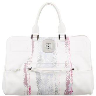Longchamp Printed Gatsby Satchel