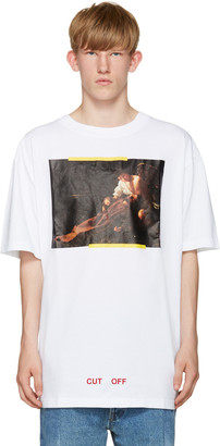 Off-White White S.Francesco T-Shirt $235 thestylecure.com