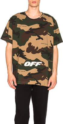 Off-White Off White Oversized Tee