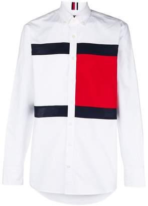 Tommy Hilfiger logo print shirt