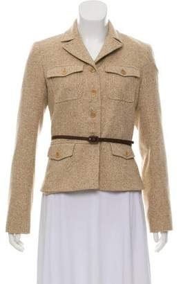 Theory Wool Belted Jacket