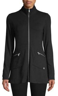 Calvin Klein Allegro Terry Long-Sleeve Jacket