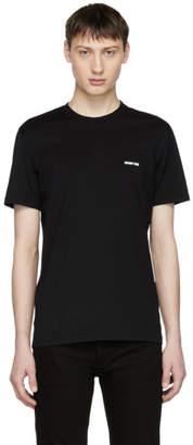 Givenchy Black Angel Back T-Shirt