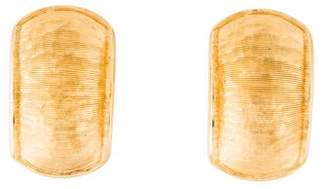 Christian Dior Textured Clip-On Earrings