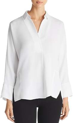 Nic+Zoe Flowing Ease Collared Top