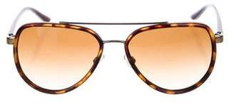 Michael Kors Marbled Aviator Sunglasses