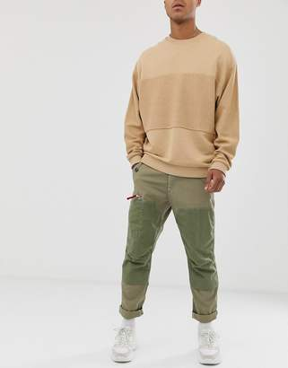 6775d5fef59 G Star G-Star Torbin straight tapered fit cargo trousers in khaki