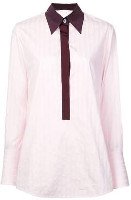 Victoria Beckham Victoria striped shirt