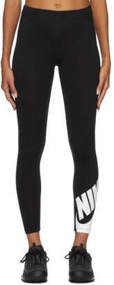 Nike Black Leg-A-See Futura Leggings