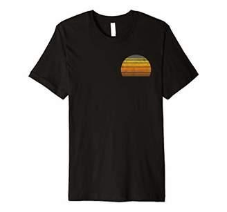 Retro Curacao Double Sided T-Shirt