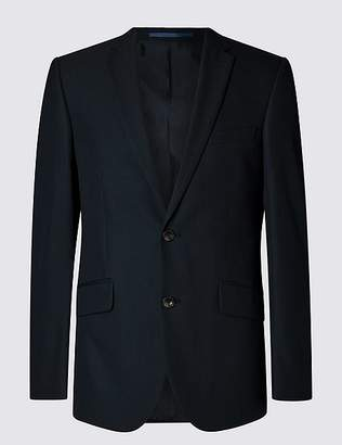 Marks and Spencer Big & Tall Navy Tailored Fit Jacket
