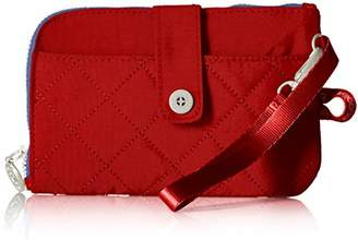 Baggallini Women's RFID Passport & Phone Wristlet