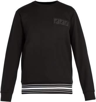 Fendi FF cotton-blend sweatshirt