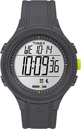 Timex Unisex Ironman Essential 30 Lap LCD Dial with a Black Resin Strap Watch TW5M14500