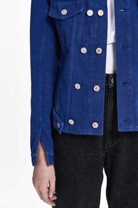 3.1 Phillip Lim Sherpa-Lined Denim Jacket
