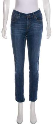 Burberry Low-Rise Skinny Jeans blue Low-Rise Skinny Jeans