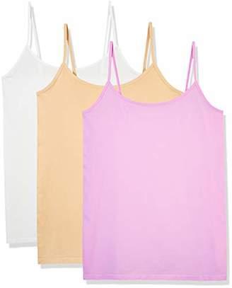 Layla's Celebrity Women's Seamless Basic Layer Camisole Top Nylon Spandex