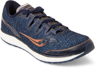Saucony Navy & Copper Freedom ISO Running Sneakers