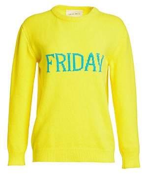Alberta Ferretti Women's Wool & Cashmere Friday Knit Sweater