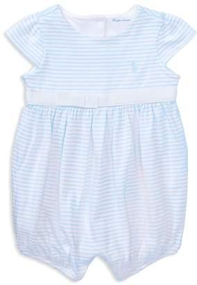 Ralph Lauren Girls' Striped Bodysuit - Baby