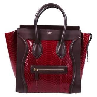 Celine Luggage Red Exotic leathers Handbags