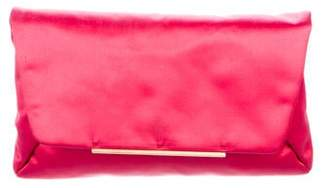 Lanvin Bow-Accented Satin Clutch