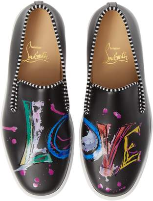 Christian Louboutin Loubi Love Slip-On Sneaker