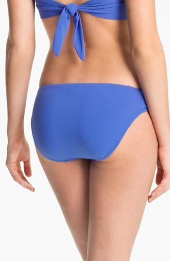 Robin Piccone Shirred Side Bikini Bottoms
