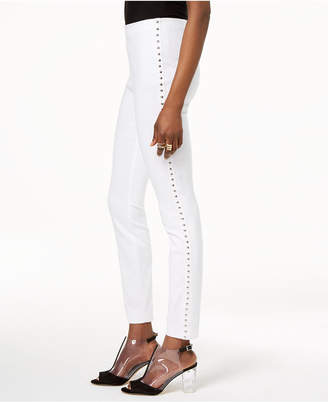INC International Concepts I.n.c. Studded Pull-On Skinny Pants, Created for Macy's