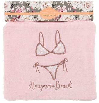 MIAMICA Pink Bridal Bikini Bag